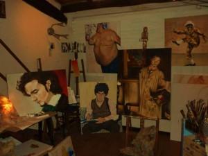 Art in Garage, il l'atelier di Nicola Nunziati