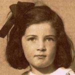 Kitty Braun da piccola