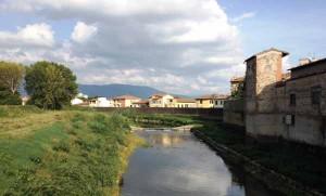Bisenzio Campi B. da Ponte Rocca Strozzi a monte