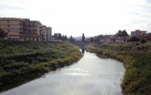Bisenzio Campi B. da Ponte Rocca Strozzi a valle