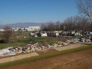 Campo di volo: rifiuti sul Brusigliano