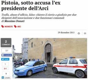 Il Tirreno - web, 29 dicembre 2015
