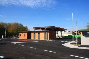 Eco. Il nuovo centro di raccolta rifiuti