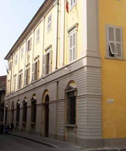 Palazzo Martini a Prato. Sede della scuola di musica Verdi