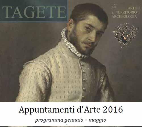 APPUNTAMENTI D'ARTE CON TAGETE