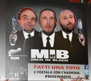 Tony De Angelis, Giacomo Parretti, Leonardo Bensi dei Rock in Movie [foto di Gianluca Bonham Risi]