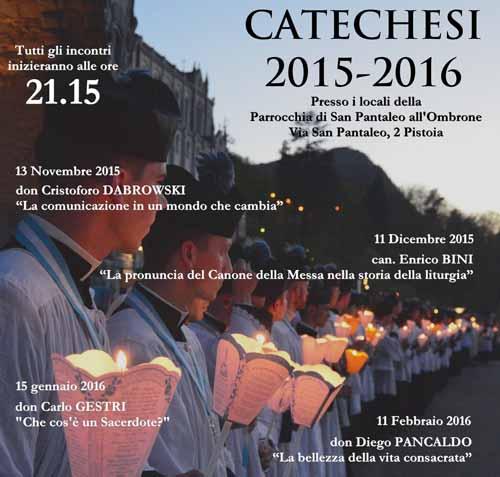 CATECHESI IN SAN PANTALEO