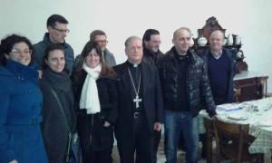 Giornalisti dal Vescovo. 2016