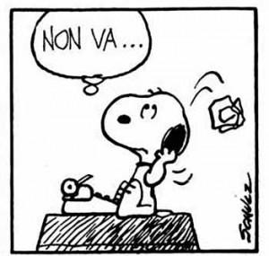 snoopy-scrittore-