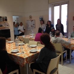 un-momento-del-pranzo-al-csm (foto archivio)