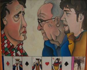 Conversazione d'arte a tavolino, Nicola Nunziati