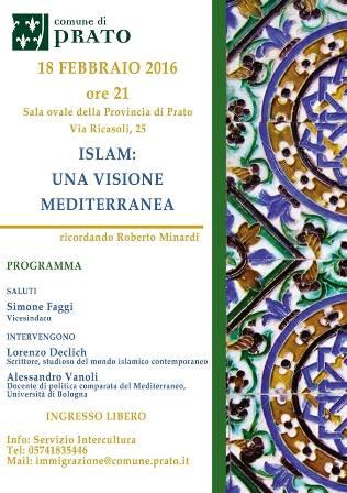 prato. ISLAM, IN RICORDO DI ROBERTO MINARDI