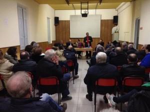 Il pubblico presente a Ferruccia