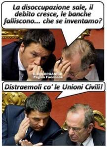 Renzi, Pd e le solite distrazioni di massa