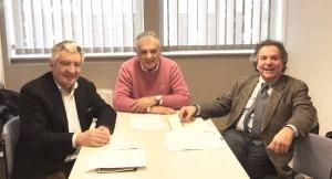 Renato Galli, Moreno Torri e Andrea Gualtierotti