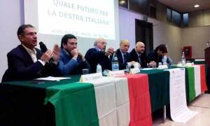 Convegno della Destra a Prato