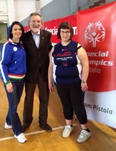 Special Olympics sindaco Bellandi