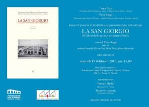 Invito San Giorgio