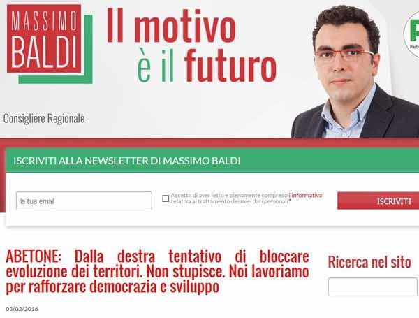 democrazia & pd. «LIBERATECI DAL COMPAGNO BALDI!»
