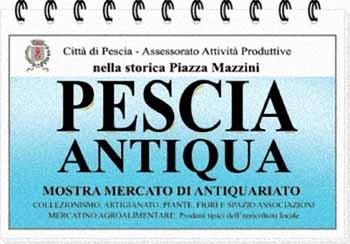"""EDIZIONE STRAORDINARIA DI """"PESCIA ANTIQUA"""""""