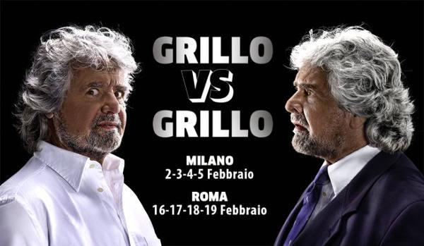 grillo vs grillo. RITORNO E TRIONFO TEATRALE DELL'ARTISTA GENOVESE