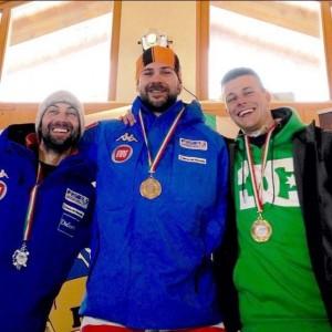 Nella foto Jacopo Luchini è l'ultimo a destra con maglia verde