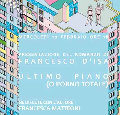 "libri. ""ULTIMO PIANO (O PORNO TOTALE)"""