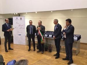 L'intervento del sindaco Mazzanti