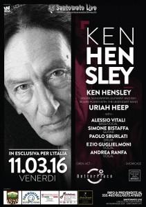 Ken Hensley. La locandina
