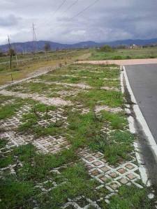 Una zona del ciclodromo