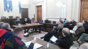 L'incontro in Comune con i rappresentanti dello sport