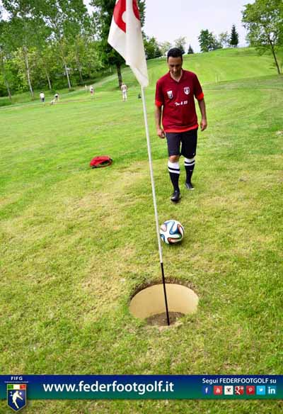 "FOOTGOLF AL ""GOLF CLUB QUARRATA"""