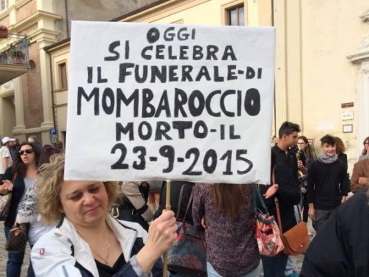 """fusioni d'italia. """"MOMBAROCCIO SE DESTA"""""""