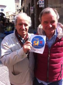 Antonio Sessa e Giampaolo Pagliai