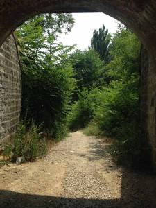 Il vialetto Capostrada-Villone