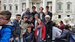Gli studenti del Fedi a Roma