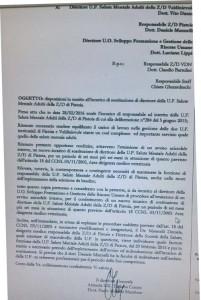 Lettera Morello Marchese