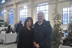 Elena Calabria con Rinaldo Vanni