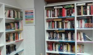 La piccola biblioteca del circolo La Libertà