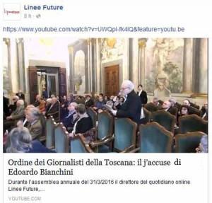 31 marzo. Edoardo Bianchini parla all'assemblea dell'OdG di Firenze.2