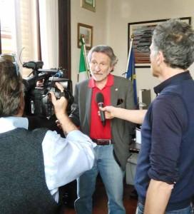 Bellandi intervistato dalla Rai per la truffa ai cittadini della Nievole