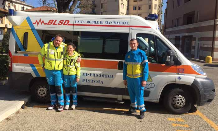 salvato. PISTOIA-BOTTEGONE IN 2 MINUTI E 30 SECONDI