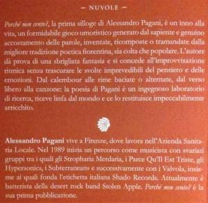 Retro copertina Pagani