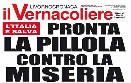 """SCOPERTA """"RIVOLUZIONARIA"""" CONTRO LA MISERIA"""