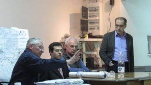 L'assemblea pubblica di Caserana