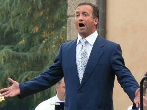 Il tenore Enrico Nenci