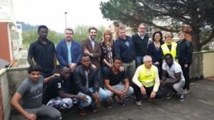 Montemurlo. Accoglienza migranti e tv