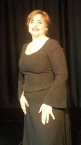 Selene Fiaschi nel ruolo di Santuzza