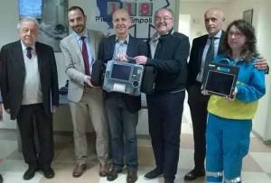 118 consegna defibrillatori