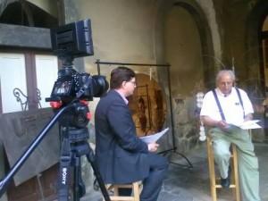 Riccardo Fagioli. L'intervista con Tronci